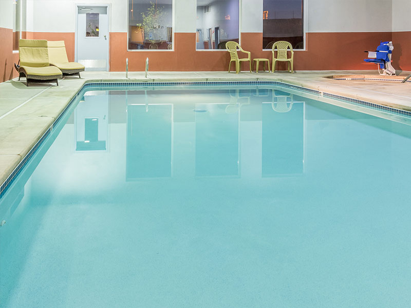 Photo of indoor swimming pool